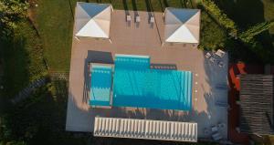 La piscina vista dal'alto © Ottavio Giannella